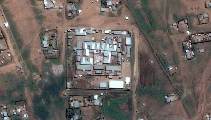 Satellite image of Jail Ogaden, Jijiga, Ethiopia, recorded on May 27, 2016.
