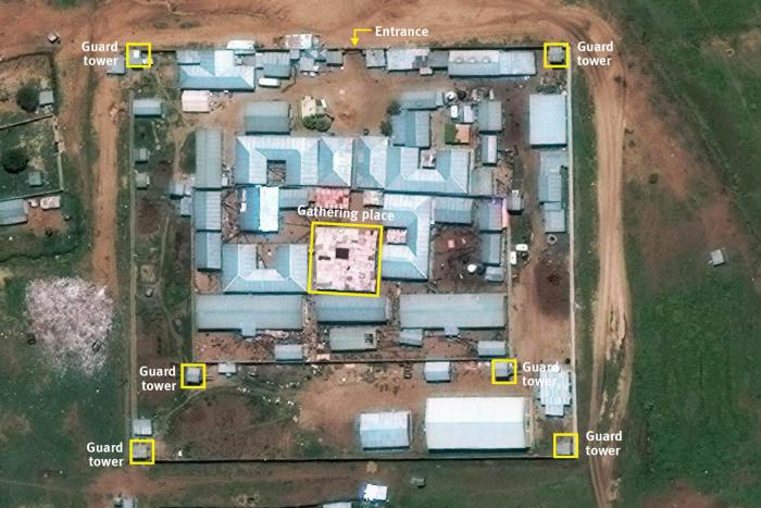 Satellite image of Jail Ogaden May 2016.