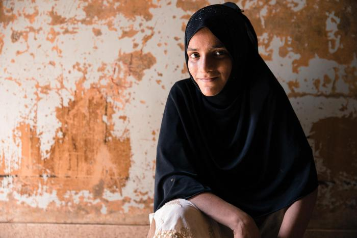 Saba is one of the almost 22.5 million children in Pakistan who are out of school, the majority of whom are girls.