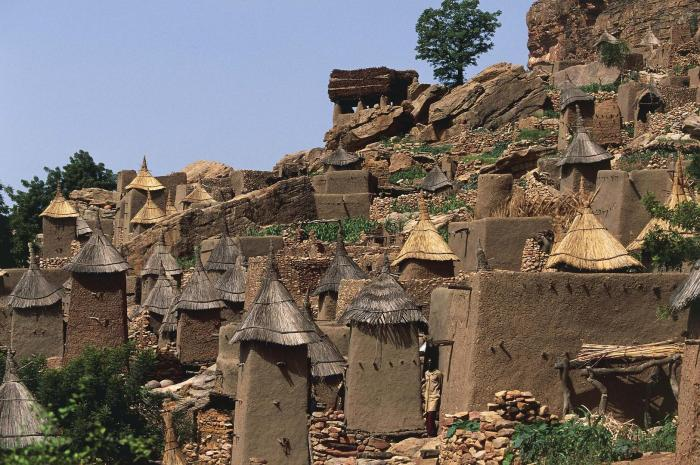 Ireli, Dogon village in Bandiagara Cercle. During 2018, over 200 civilians have been killed and numerous villages destroyed in communal violence between the Peuhl and Dogon ethnic groups in Mopti region.