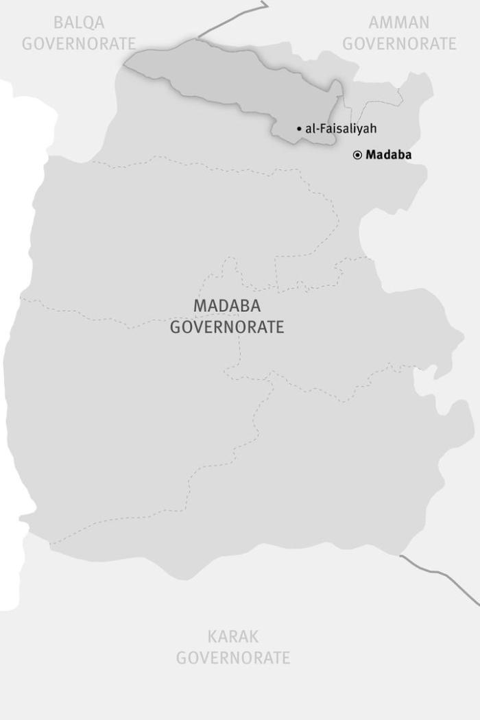 al-Faisaliyah district in Madaba governorate