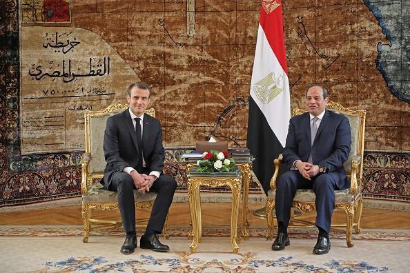 Visite du président égyptien à Paris : les ONG mobilisées sur les droits de l'Homme - L'Express