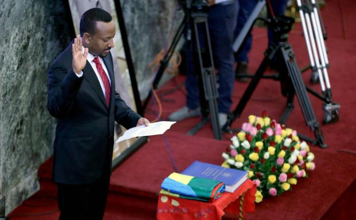 Abiy Ahmed Sworn In As Ethiopia's Prime Minister For Second 5-Year Term