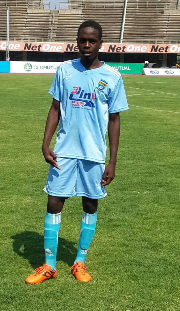 Family photo of Kelvin Tinashe Choto, 22-year-old footballer whom security forces shot in the head and killed on January 14, 2019.