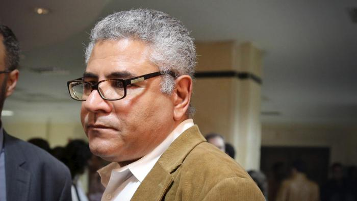 Human rights activist Gamal Eid is seen at a court in Cairo, March 24, 2016.