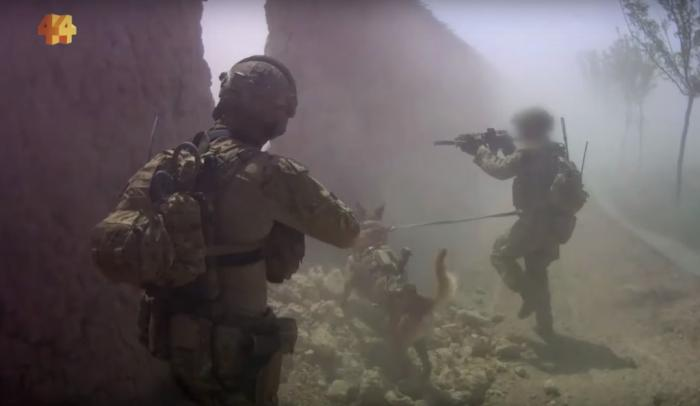 Australian SAS search operation in Uruzgan province, Afghanistan, in May 2012. Screenshot from ABC News, Four Corners, March 16, 2020.