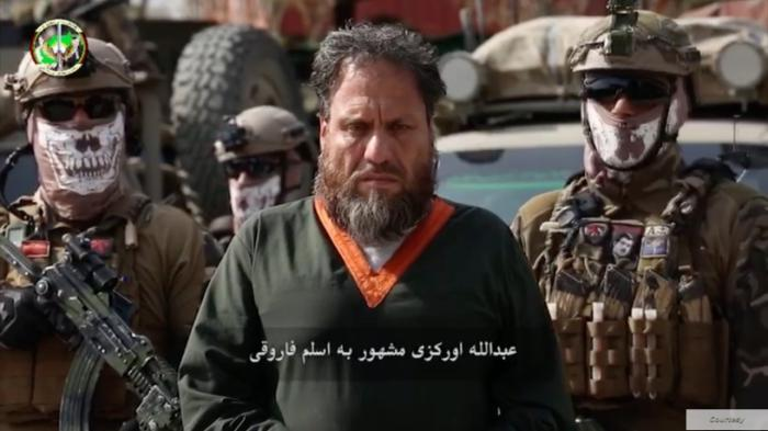 The Afghan National Directorate of Security (NDS) released this image of Abdullah Orakzai, also known as Aslam Farooqi, the leader of an ISIS affiliate. © 2020 National Directorate of Security