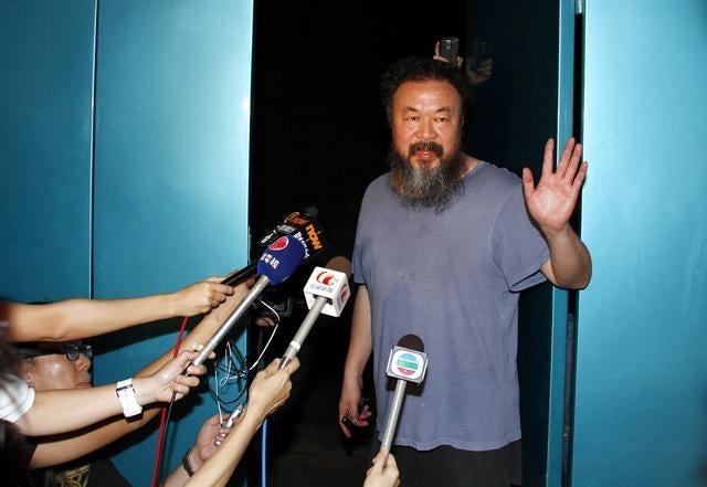 中国:艾未未(アイ・ウェイウェイ)氏の違法拘禁 中国政府の「法の ...