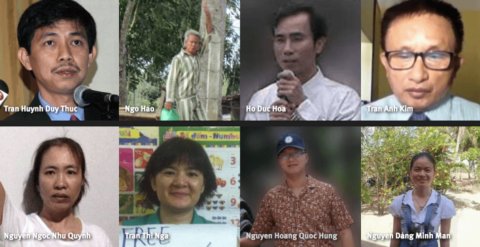 Political prisoners in Vietnam