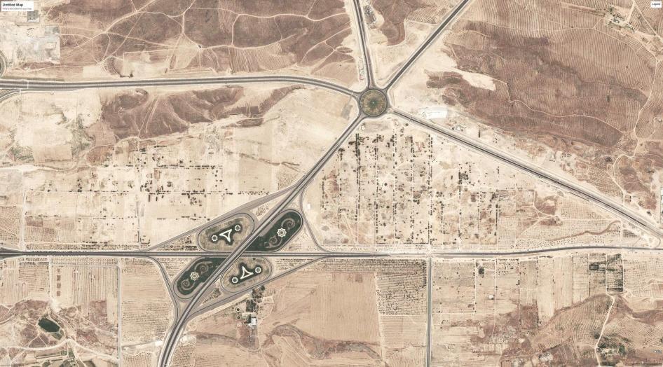 Turkmenistan: Berzengi Satellite Imagery