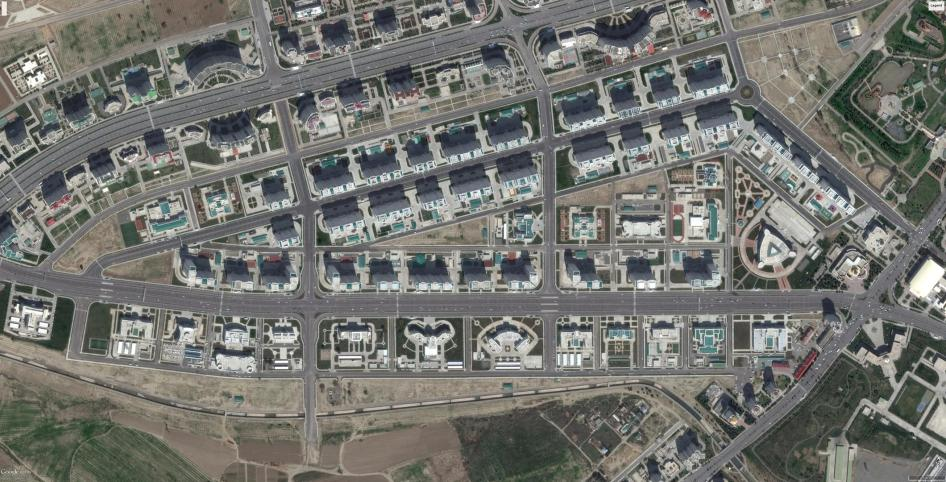 Turkmenistan: Gazha-south Satellite Imagery