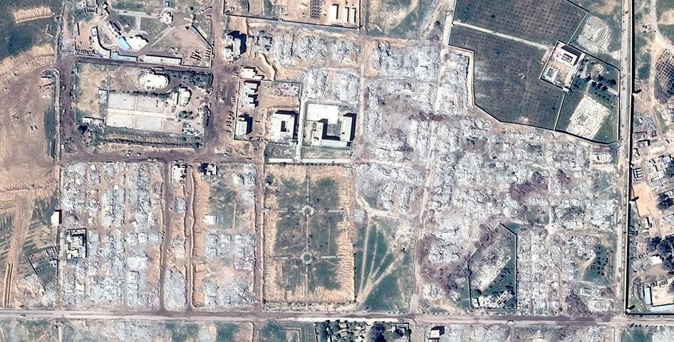 Satellite Imagery Shows Building Demolition in Northern Sinai