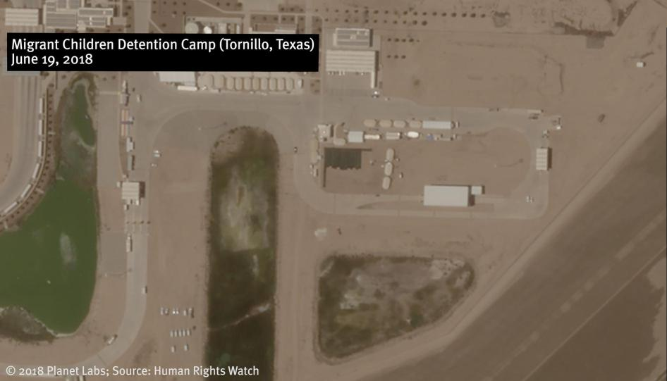 New Satellite Imagery Shows Growth in Detention Camps for Children