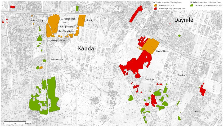 Somalia thousands homeless as settlements razed human rights watch launch map sciox Images