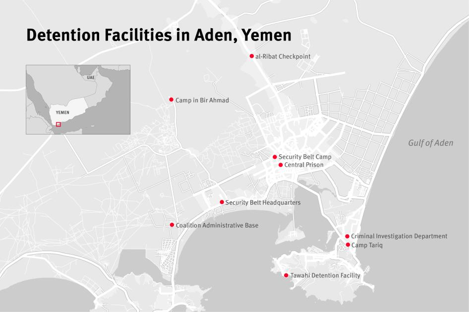 Detention Facilities in Aden, Yemen