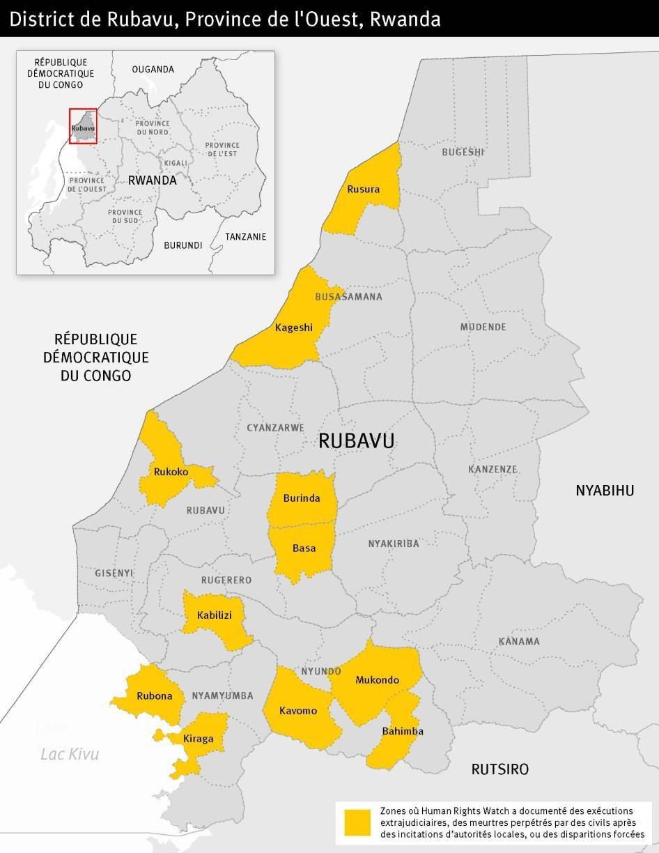 District de Rubavu, Province de l'Ouest, Rwanda