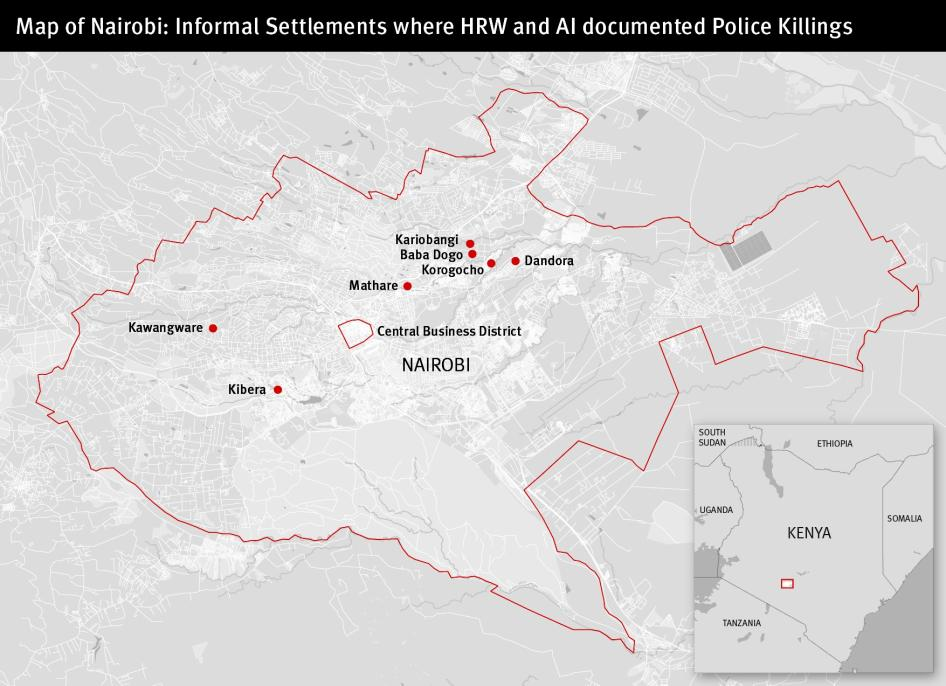 Security Forces Violations In Kenya S August 2017 Elections
