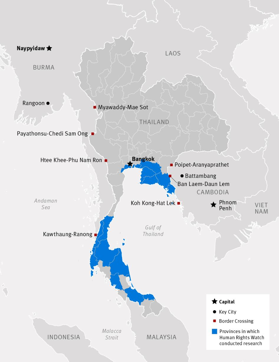 Rights Abuses and Forced Labor in Thailand's Fishing Industry | HRW