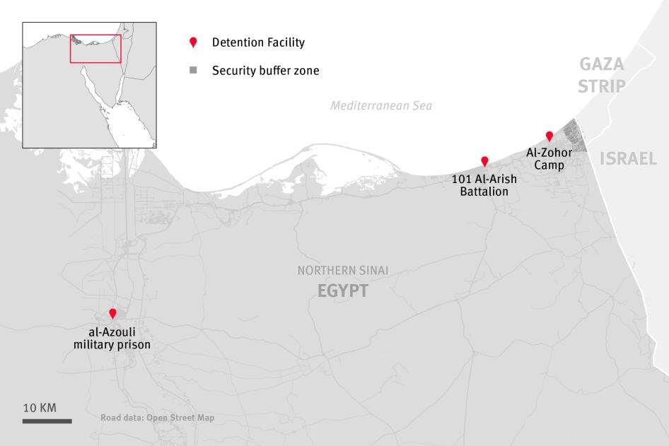 Egyptian Security Forces and ISIS-Affiliate Abuses in North
