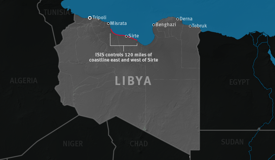 Life under isis in sirte libya hrw map of libya gumiabroncs Gallery