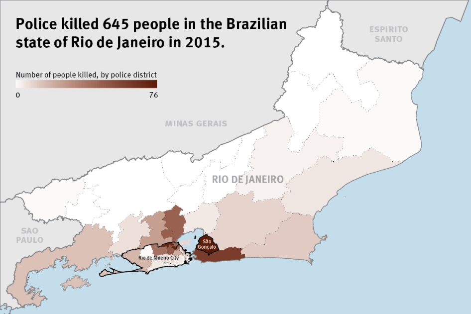 The Toll Of Unchecked Police Violence In Rio De Janeiro Hrw