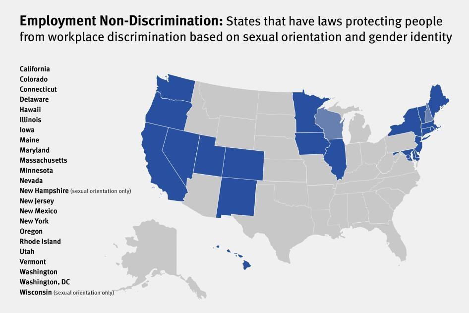 Anti discrimination homosexual laws