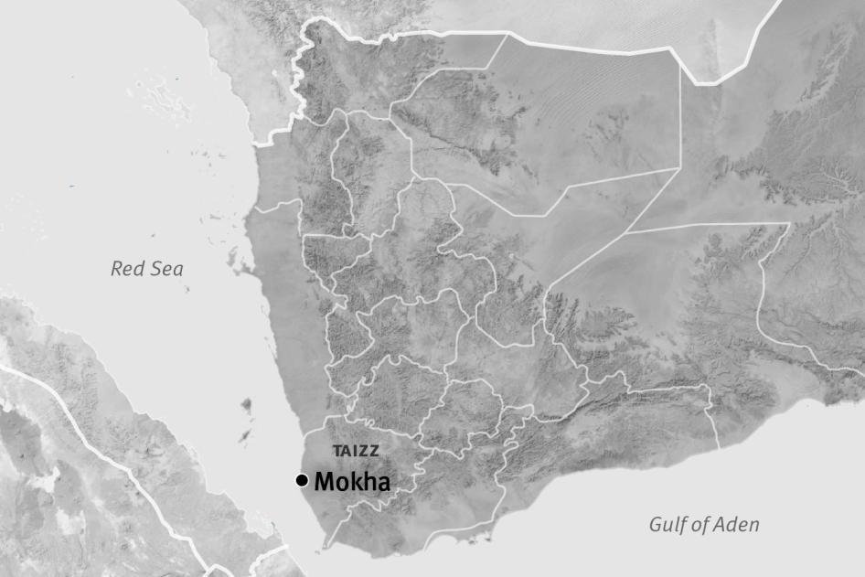 Map of Mokha