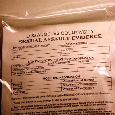 Santa Barbara Independent Publishes Article by Susan Rose on Rape Kit Backlog