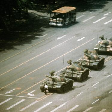China: End June 1989 Massacre Denial, Free Dissidents