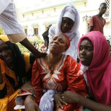 Guinea: Stadium Massacre, Rape Likely Crimes Against Humanity