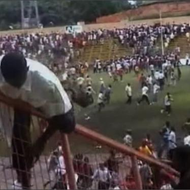 Military Official Arrested for Guinea's 2009 Stadium Massacre