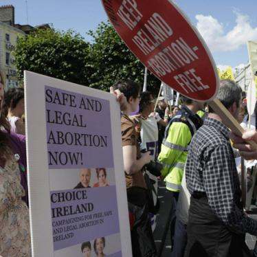 Ireland: Abortion Limits Violate Human Rights