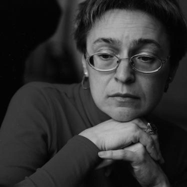 Anna Politkovskaya: No Justice