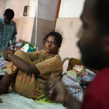 """Sri Lanka: Los """"balseros"""" narran los horrores de la zona de no combate"""