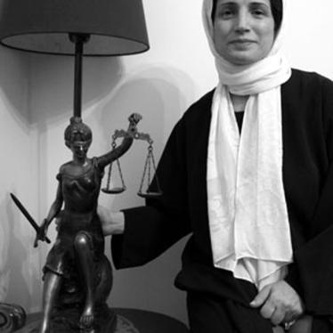 Iran: Prominent Rights Defender Arrested