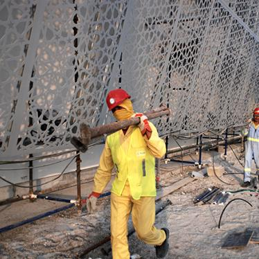 Gulf Countries: Bid to Protect Migrant Workers