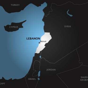 Lebanon: Take New Approach to Protect Tripoli