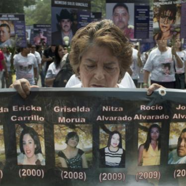 Mexico: Crisis of Enforced Disappearances