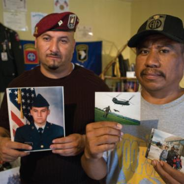 Dispatches: The US Veterans Who Can't Return Home