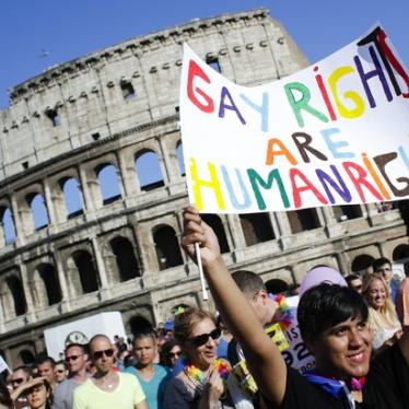 Italy: Drop Charges Against Gay and Lesbian Activists