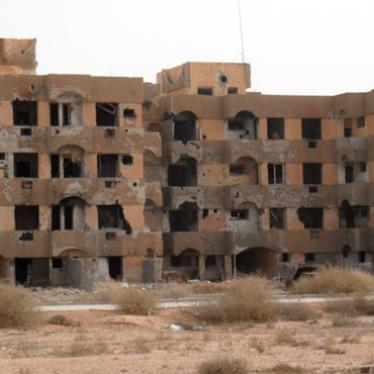 Libya: Stop Revenge Crimes Against Displaced Persons