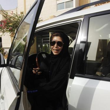 Women Should Take the Wheel in Saudi Arabia