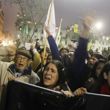 Perú debe asegurar la selección imparcial de jueces y del defensor del pueblo