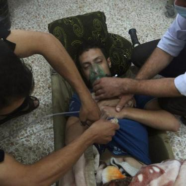 Syria: Witnesses Describe Alleged Chemical Attacks