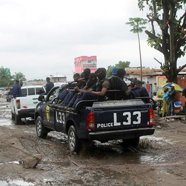 DR Congo: Police Operation Kills 51 Young Men and Boys
