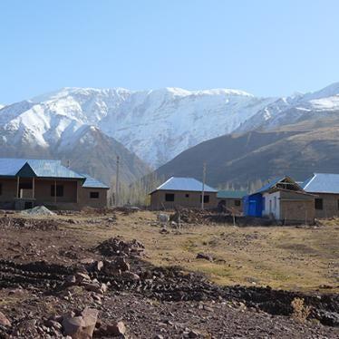 Tajikistan: Dam Resettlement Undermines Livelihoods