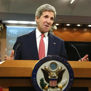 US: Kerry's Africa Trip Should Emphasize Rights