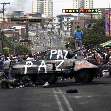Venezuela: Stop Harassing Human Rights Defenders