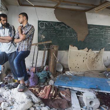 Israël : Enquête sur des attaques menées contre des écoles à Gaza