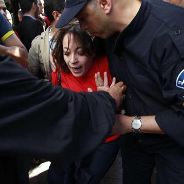 Algeria: Arrests at Protest Against President